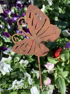 Bilde av Hagepynt / plantestøtte, sommerfugl