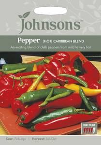 Bilde av Chilipepper 'Caribbean Blend' - Capsicum annuum