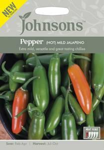 Bilde av Chilipepper 'Mild Jalapeno' - Capsicum annuum