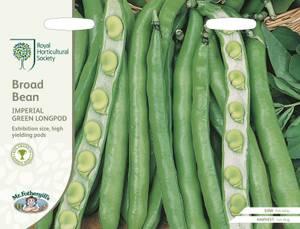 Bilde av Bønne, bonde- 'Imperial Green Longpod'