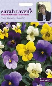 Bilde av Stemorsblomst 'Comedy Mixed' F2 - Viola x wittrockiana -