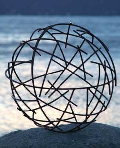 Bilde av Dekorkule - wire 60 cm