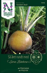 Bilde av Nepe 'Golden Ball' - Brassica rapa