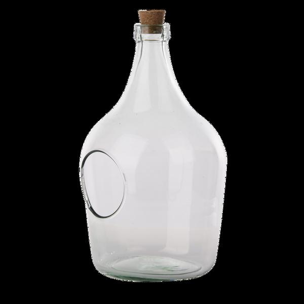 Terrarium åpen, flaske 3 liter