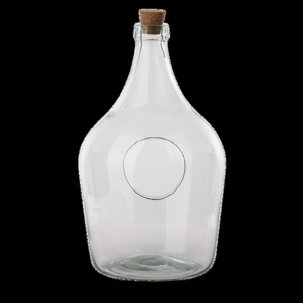 Terrarium åpen, flaske 5 liter