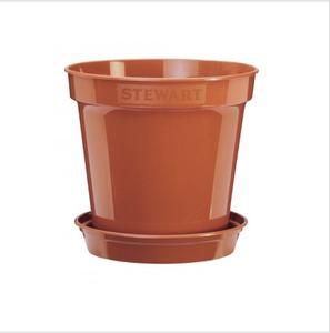 Bilde av Plastpotte 25,4 cm, brun