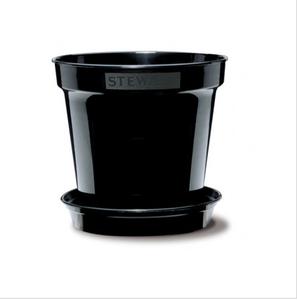 Bilde av Plastpotte 20,3 cm, svart