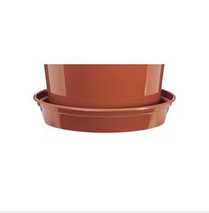 Bilde av Plastfat til 30,5 cm potter, brun