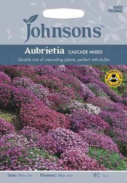 Blåpute 'Cascade Mix' - Aubrieta