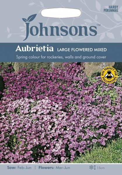 Blåpute 'Large Flowered Mixed' - Aubrieta
