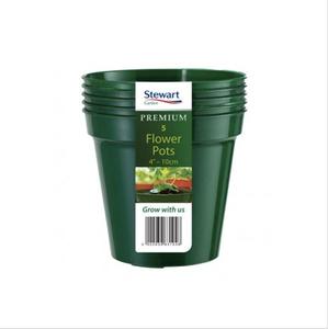Bilde av Plastpotte 7,6 cm, 10 pk, grønn