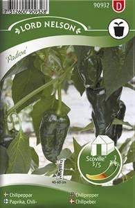 Bilde av Chilipepper 'Padron' - Capsicum annuum