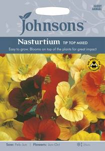 Bilde av Blomkarse 'Tip Top Mixed' - Tropaeolum majus