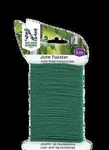 Bilde av Jute Twister grønn 5 m