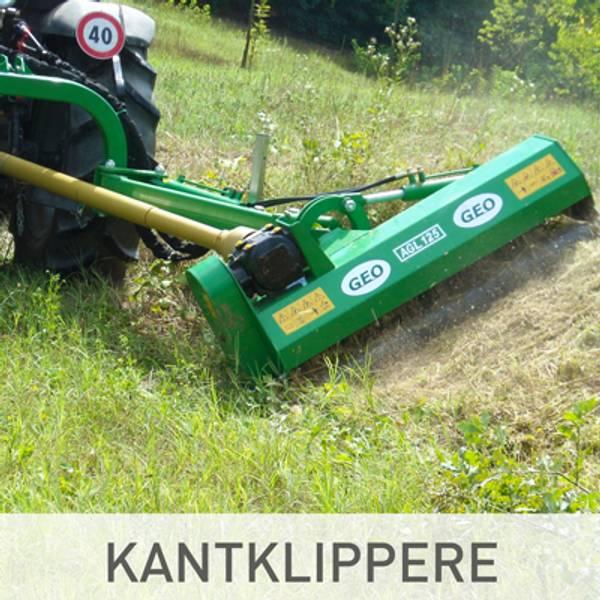 kantklipper og beitepusser til traktor billig tilbud