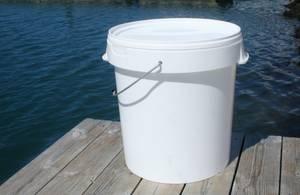 Bilde av Plastspann m/lokk 30 liter