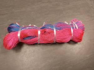 Bilde av Toggegarnbus(pink/blå)