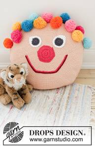 Bilde av Bongo the Clown Pillow by DROPS Design