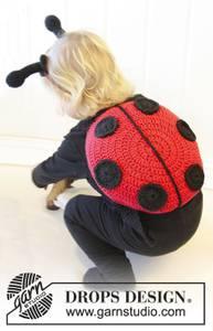 Bilde av Ladybug in training by DROPS Design