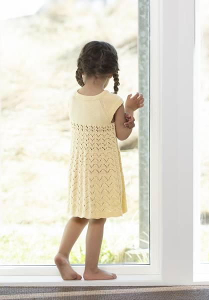 """2122-4 """"Yasmin"""" -kjole. VIKING GARN"""