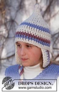 Bilde av Snow Gnome Hat by DROPS Design