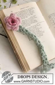 Bilde av Reading Rose by DROPS Design