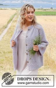 Bilde av Lavender Sprinkles Jacket by DROPS Design
