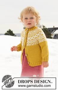 Bilde av Little Missy Jacket by DROPS Design
