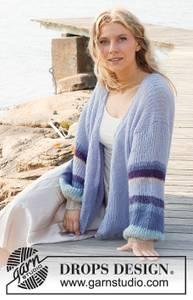 Bilde av Blue Sunrise Jacket by DROPS Design