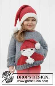 Bilde av Sleepy Santa Sweater by DROPS Design