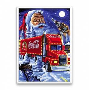 Bilde av Julenissen og Coca-cola trailer kit 20x25cm