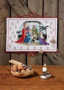 Bilde av Kalender m/ jesusbarn i betlehem