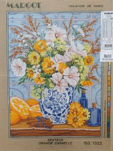 Bilde av vase med blomster