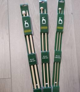 Bilde av Pony bambus parpinner