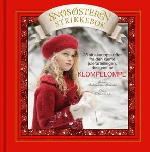 Bilde av Klompelompe Snøsøsteren strikkebok