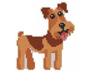 Bilde av Terrier hund Magnet kit