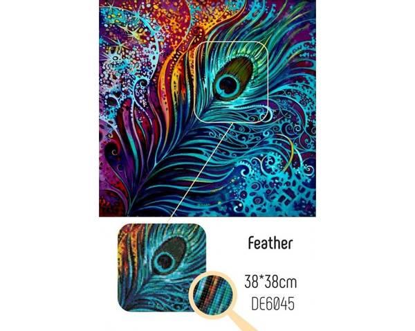 Feather 38x38cm