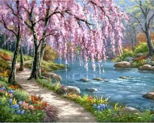 Bilde av Pink Spring 48x38cm