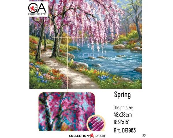 Pink Spring 48x38cm
