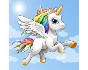 Bilde av Celestial Unicorn kit 38x38cm