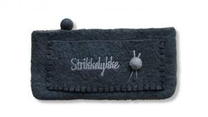 Bilde av strikkelykke Strømpepinne pung