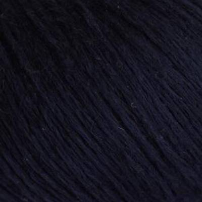 Soft Lino 18 Marineblå Laines Du Nord