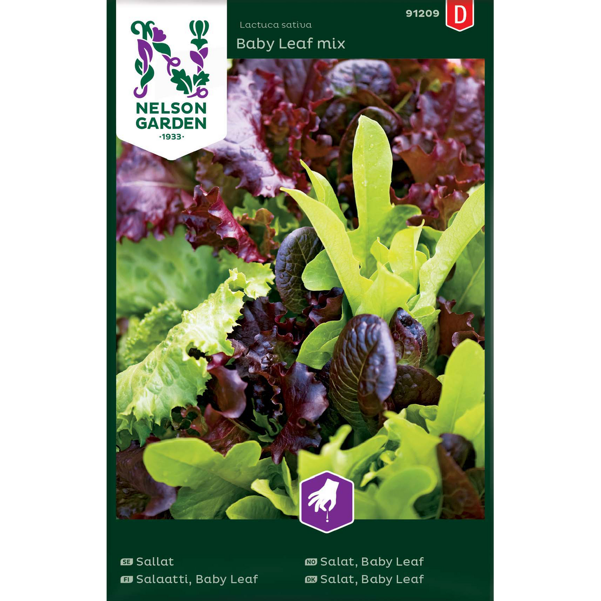 Salat, Baby Leaf mix