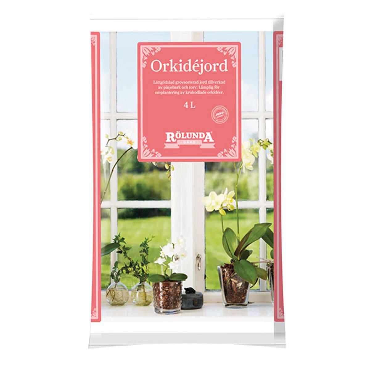 Orkidéjord 4 liter