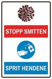 Bilde av Stopp smitten-sprit hendene