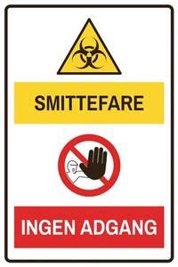 Bilde av Smittefare-ingen adgang