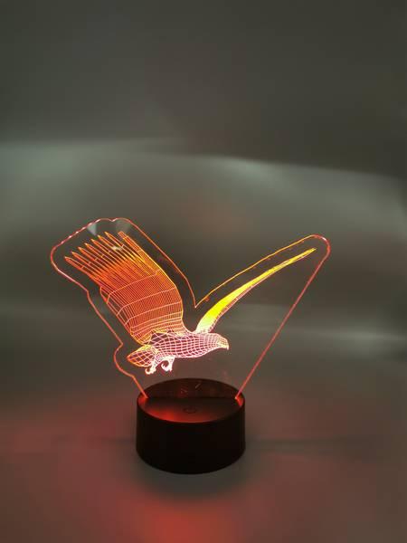 3D Ørnelampe