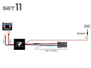 Bilde av Elektronisk ledningsnett med DTP-4 kontakt 1 x