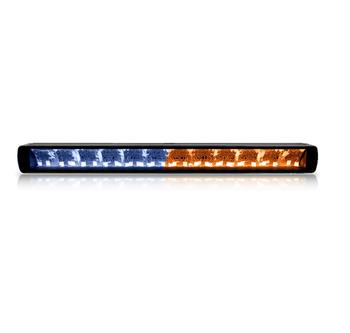 Bilde av LED bar med hvit/oransje parklys
