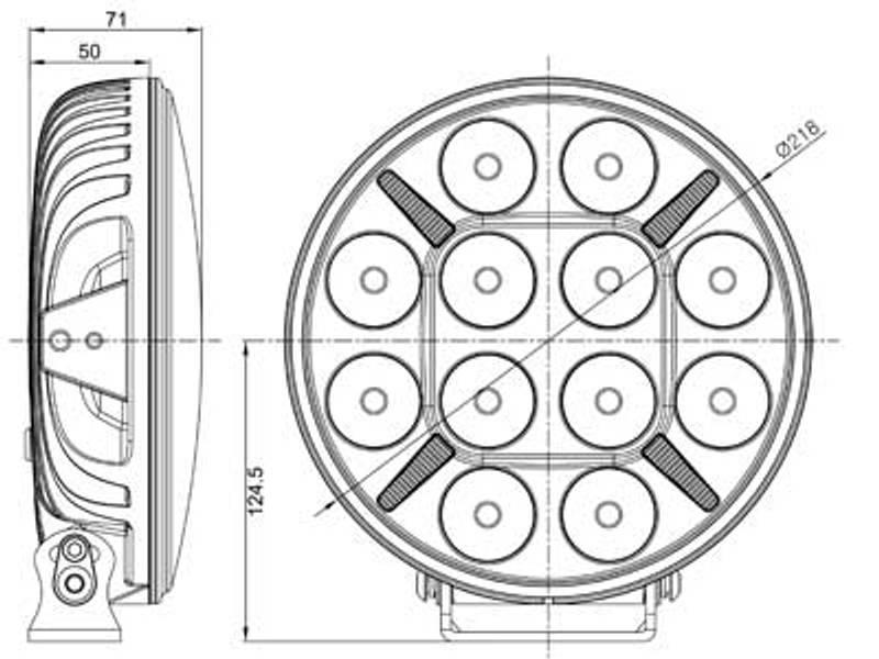 Seeker 9 Driving (220 mm)